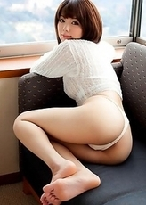 Wonderful tits are what Nozomi Mayu is famous for